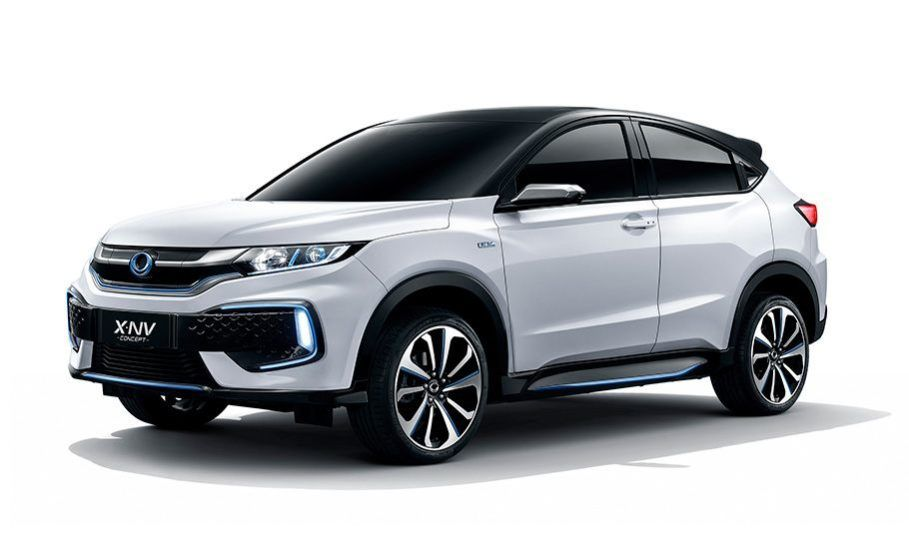 Honda meluncurkan mobil konsep Honda XN-V yang pertama di dunia pada 16 April 2019 di ajang Auto Shanghai 2019, Cina. Model konsep tersebut dirancang oleh Honda Motor China Technology Co., Ltd bersama Dongfeng Honda, dan akan diproduksi massal sebagai mobil listrik khusus pasar Cina mulai semester kedua tahun ini.
