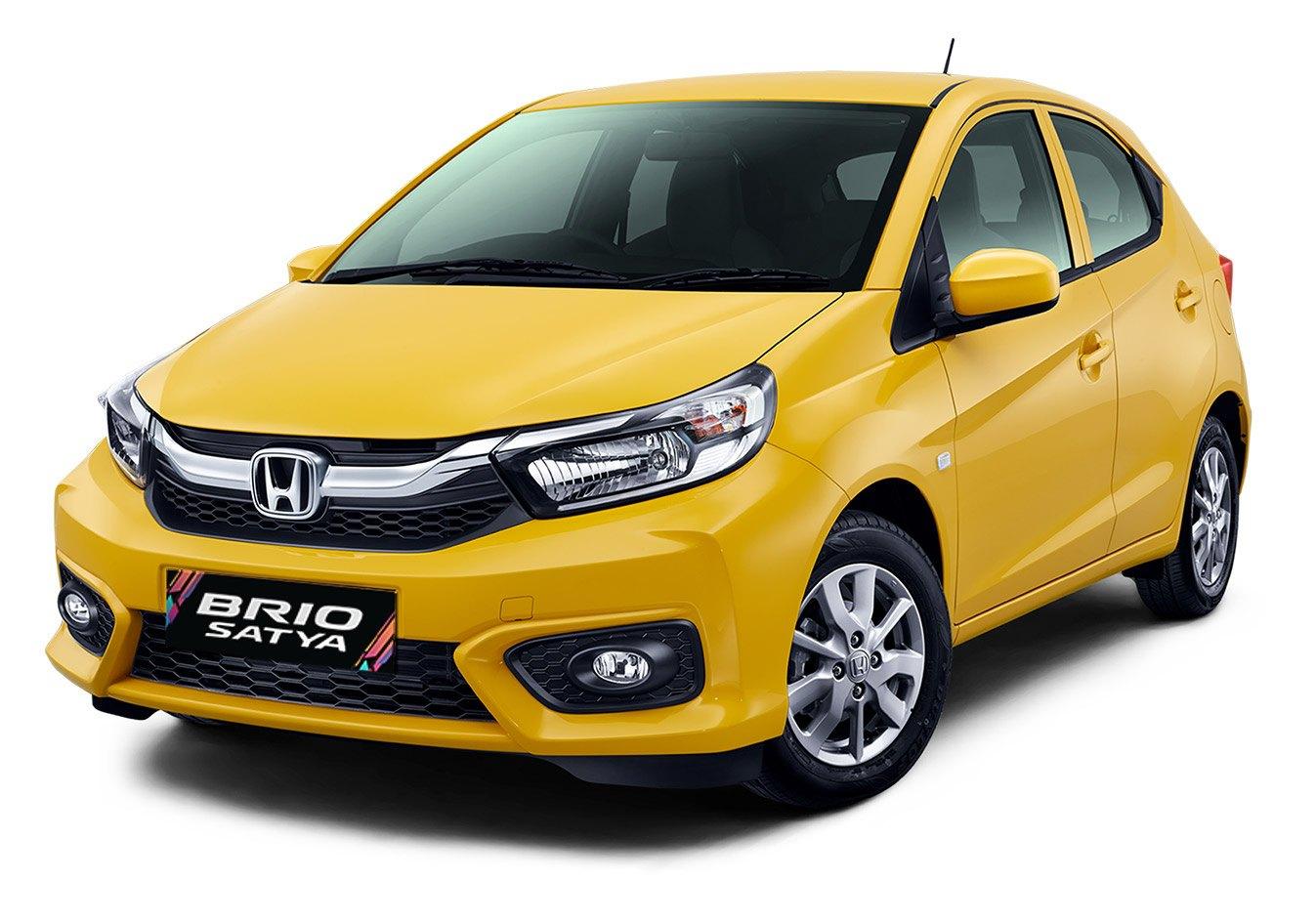 All New Honda Brio Satya (Front Angle)