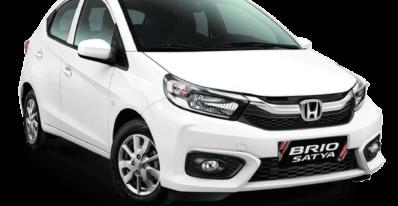 mobil Honda putih